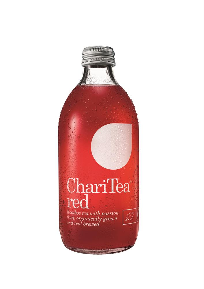 Red Rooibos Organic Iced Tea with Passion Fruit 330ml