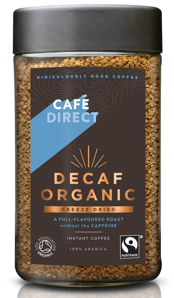 Smooth Organic FT Instant Freeze Dried Coffee 100g