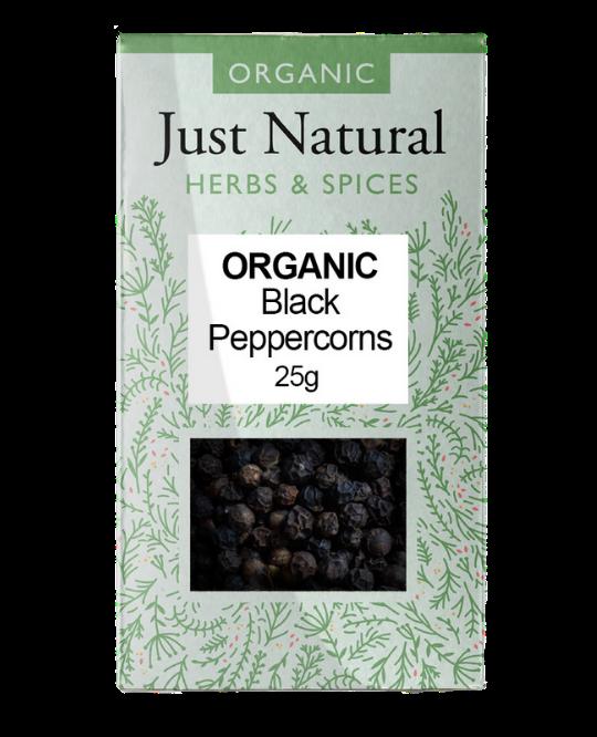 Peppercorns Black (Box) 25g