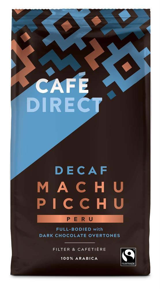 Decaffeinated Machu Picchu Arabica Ground Coffee 227g