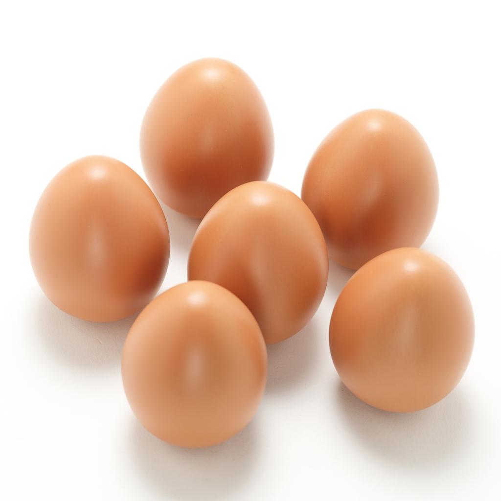 Six Organic Free Range Eggs